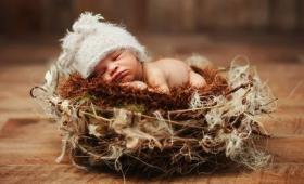 Новорождённый дома